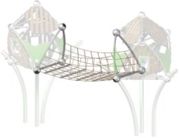 Trii Anbaulement Übergangsbrücke