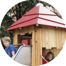 Woodville das Dach