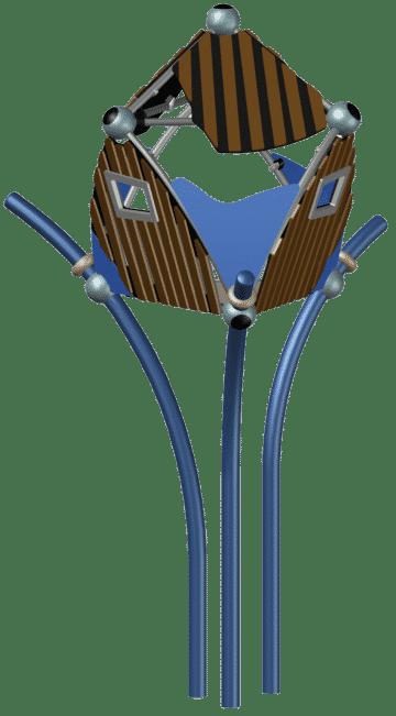 Spielgerät von Triis