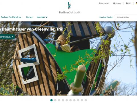 Artikelbild von Die neue Berliner Seilfabrik Webpage geht online!