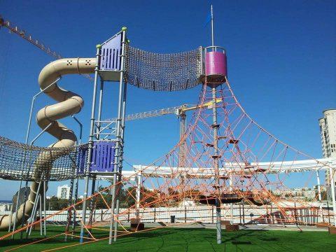 Artikelbild von Haifa eröffnet neue Spielplatzanlage der Berliner Seilfabrik