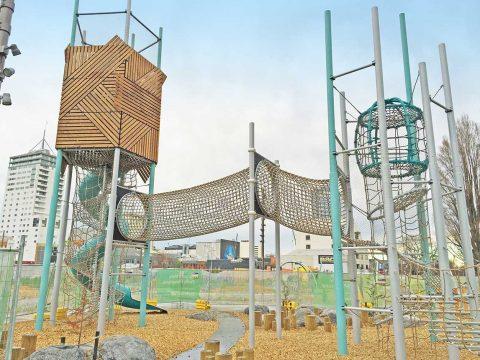 Artikelbild von Margaret Mahy Family Playground eröffnet in Christchurch, Neuseeland