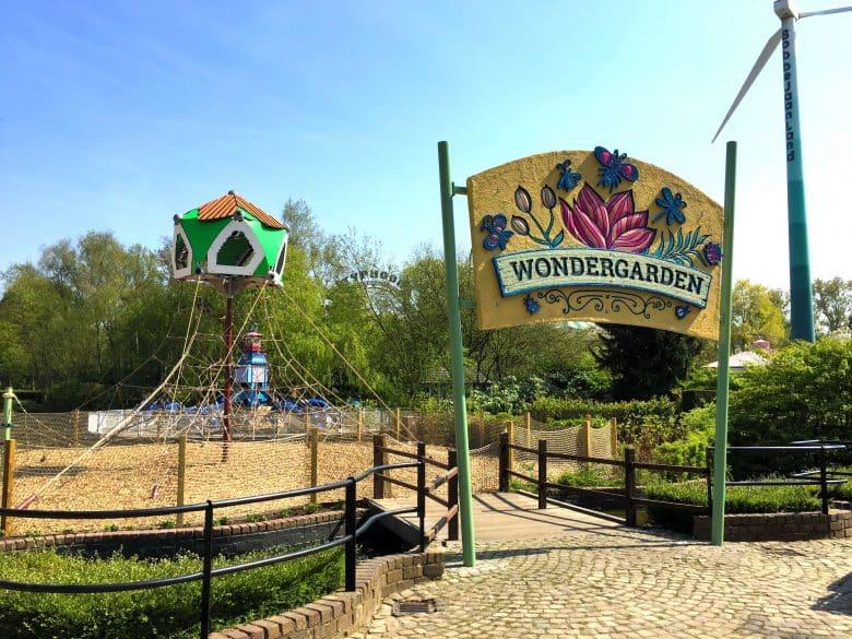 "Berliner Seilfabrik playground ""Wondergarden"" in Bobbejaanland, Belgium"