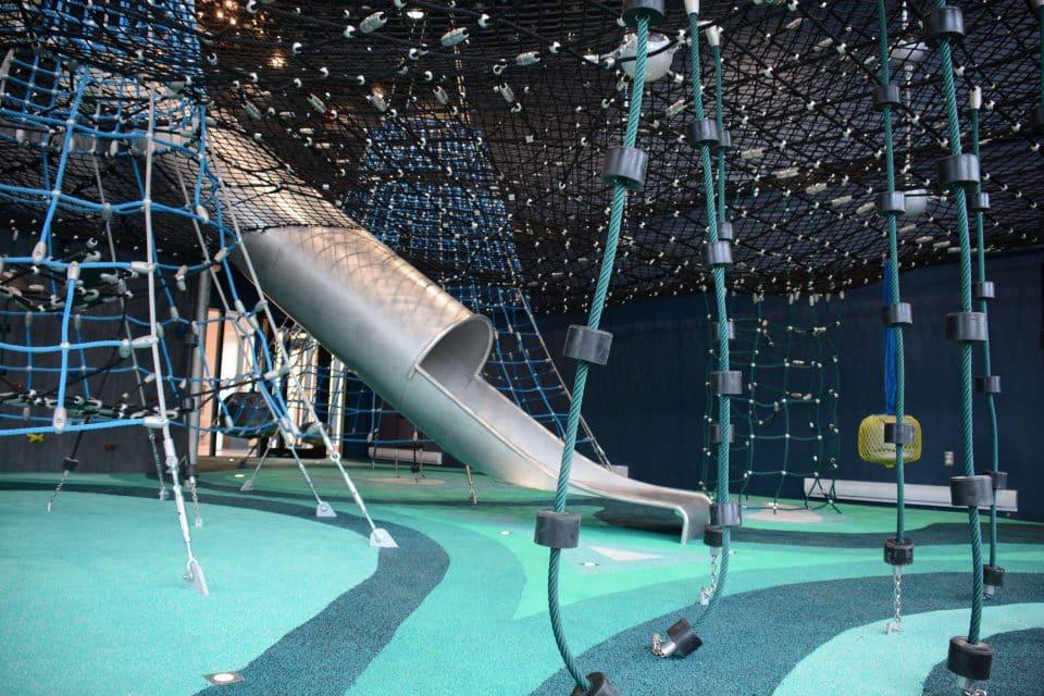 Geoparc de Percé, unterste Spielebene, Berliner Seilfabrik