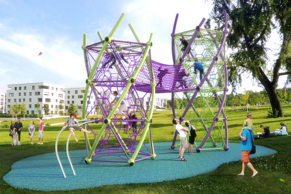 DNA Tower - Berliner Seilfabrik - Play equipment for life