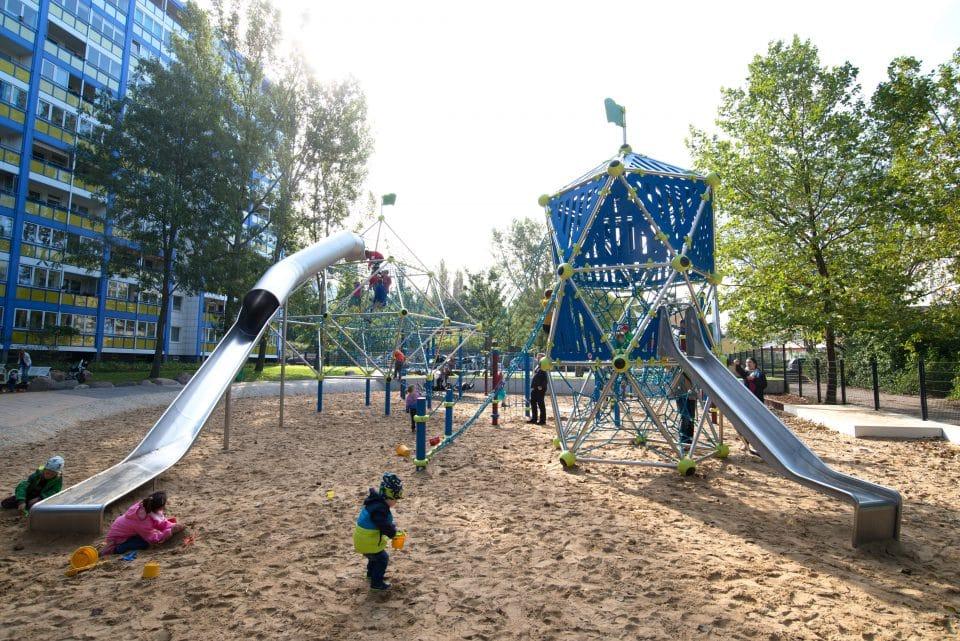 Großer Spielplatz – Berliner Seilfabrik – Spielgeräte fürs Leben