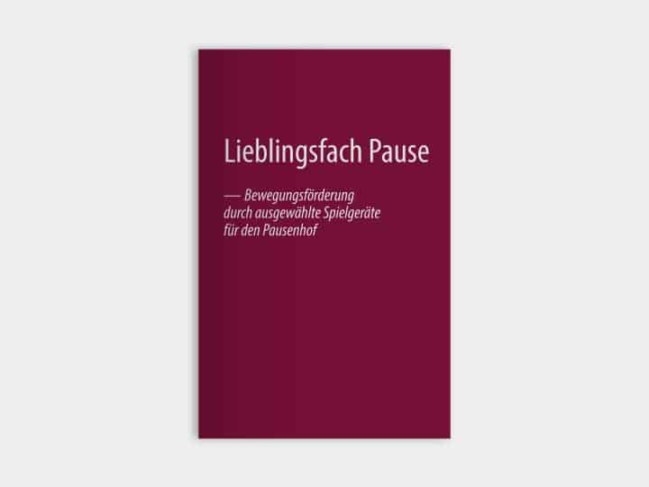 Pausenhof Broschüre