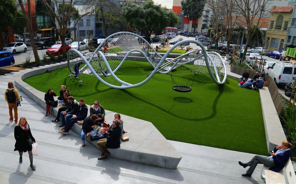 Shout, Spieldesign, Park – Berliner Seilfabrik – Spielgeräte fürs Leben